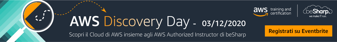beSharp AWS Discovery Day 2020